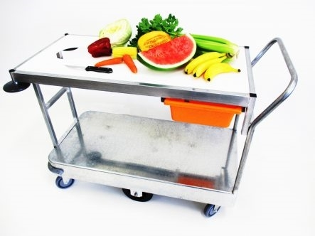 TS105 LGE Fruit and Vegetable Trolley