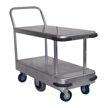 Double Deck Industrial Platform Trolley Large