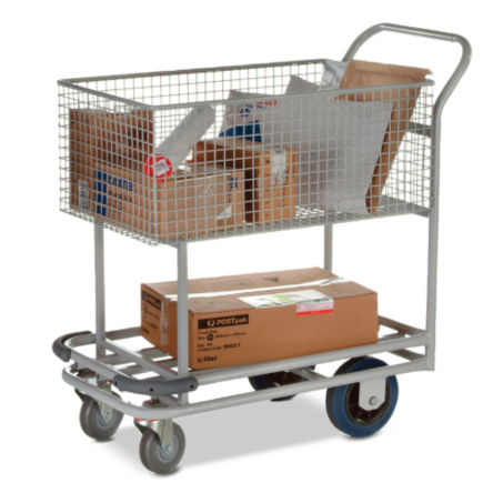 Wire Basket Trolley